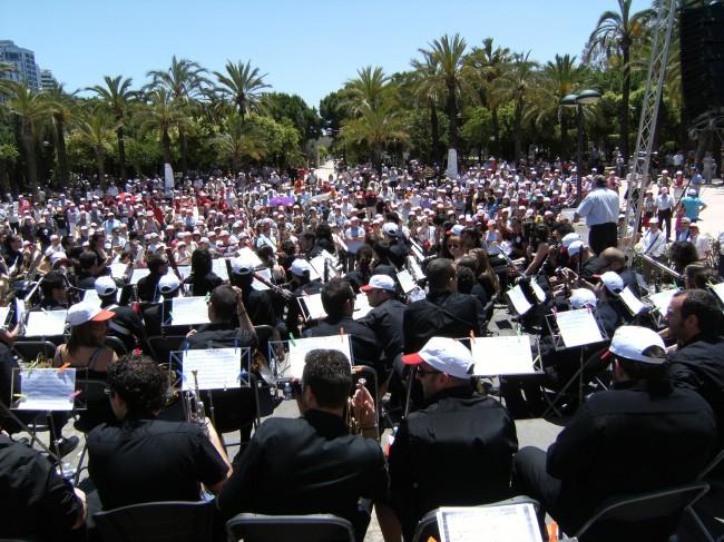trobada de bandas de musica 2010 valencia
