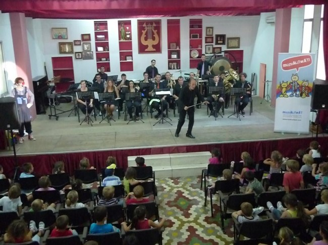Concert didactic Musicalitza't a Beniarbeig